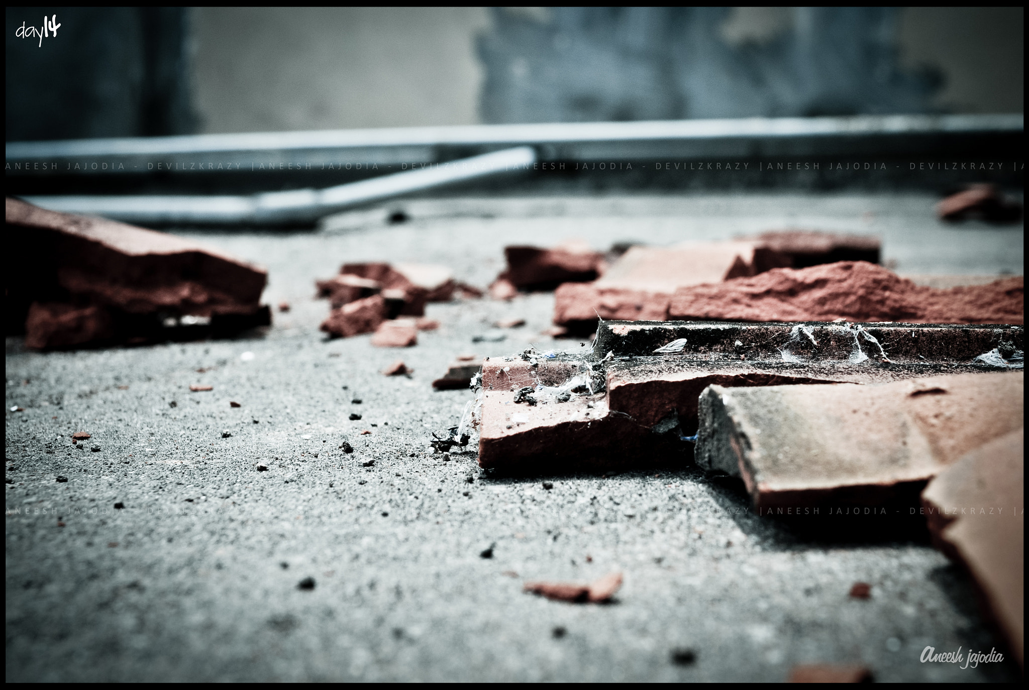 Photograph Day 14/100  Broken. by Aneesh Jajodia on 500px