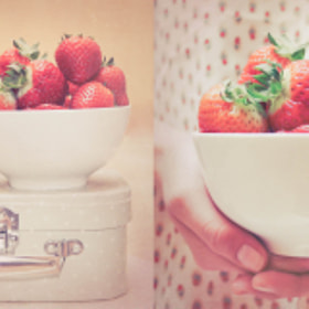 Strawberries by Laura Gómez (LauraGomezPhotography)) on 500px.com
