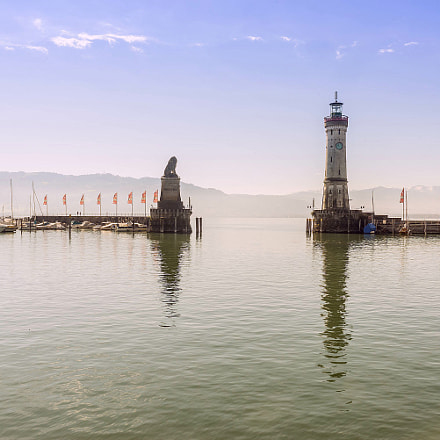 Lindau in Lake Constance