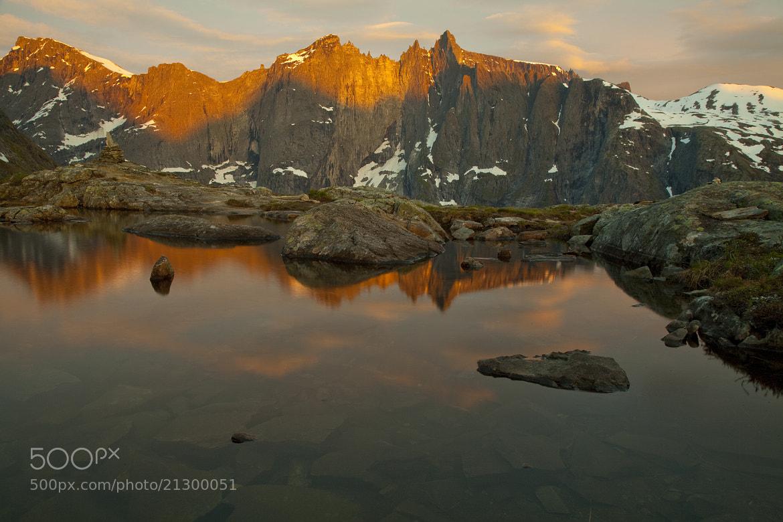 Photograph Troll wall sunrise by Morten Berg on 500px