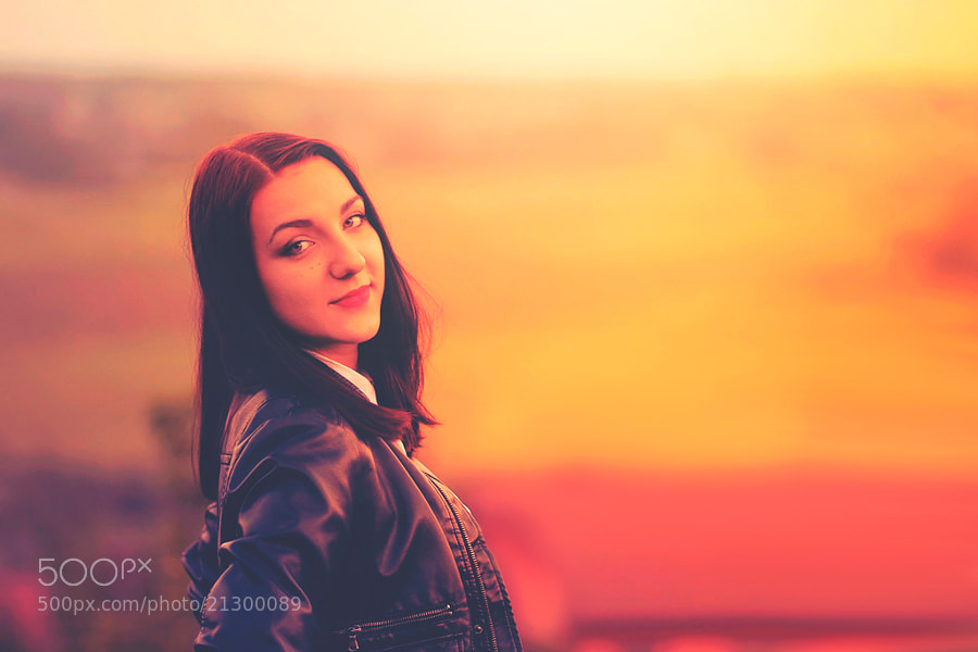 Photograph Olga by Łukasz Auguściak on 500px