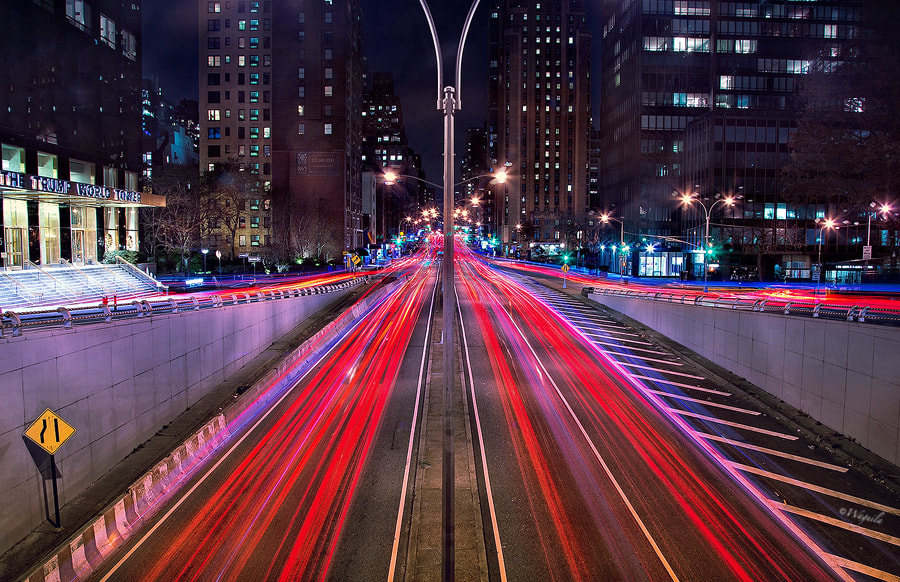 Photograph Car lights by Salim waguila on 500px