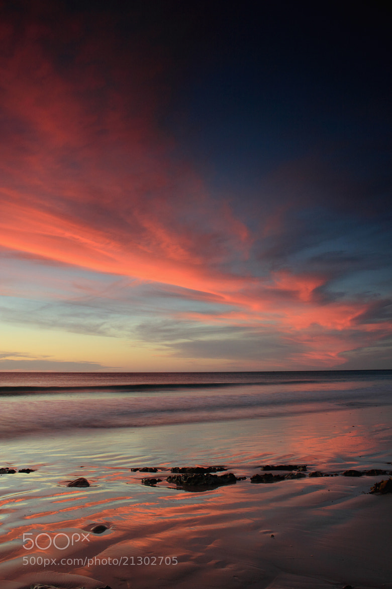 Photograph red sky at night, sailors delight. by Sam Clark on 500px