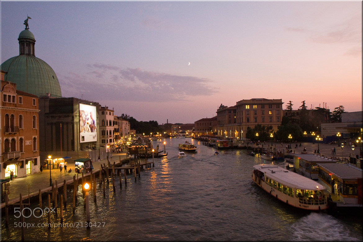 Photograph Twilight from  Ponte degli Scalzi by Jill Clardy on 500px
