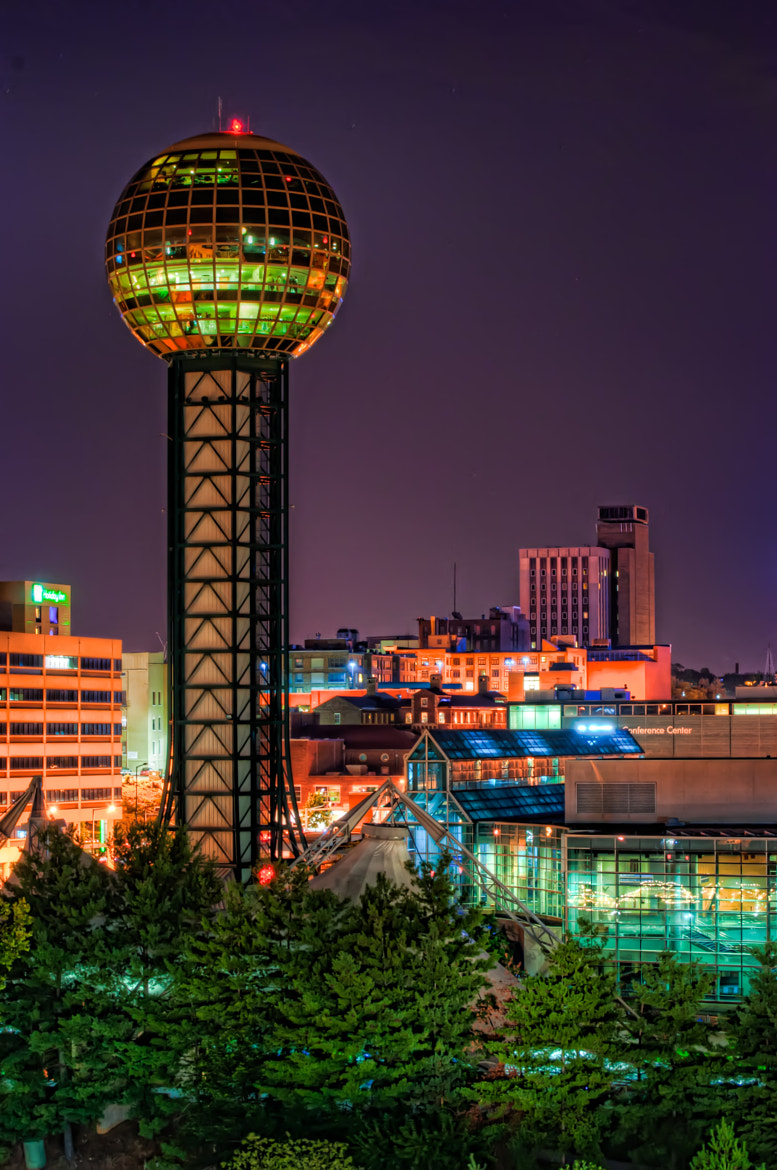 Photograph Sunsphere at Night by abanakas on 500px