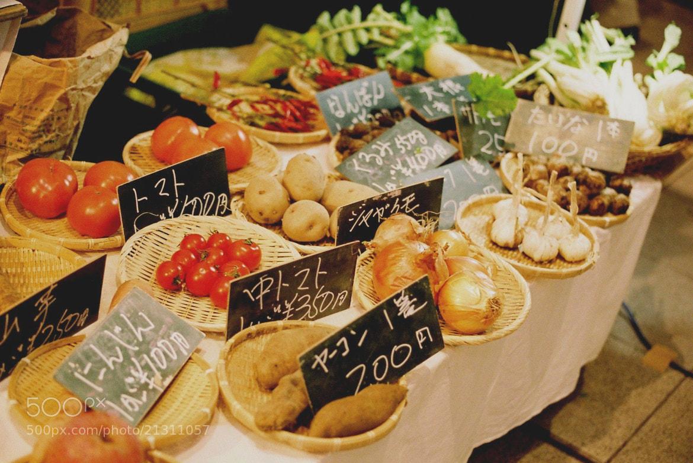 Photograph vegetable market by Sayaka Suzuki on 500px