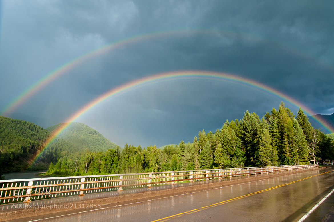 Photograph Double Rainbow by Joshua Pritchard on 500px