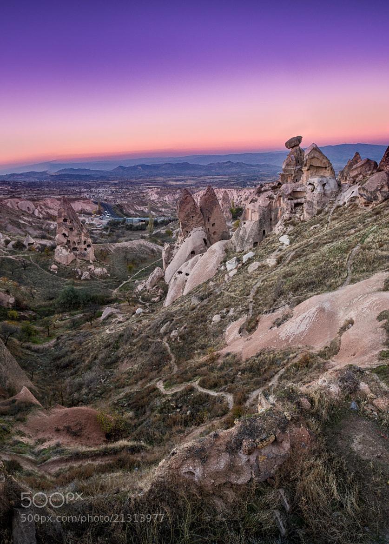 Photograph Old Man of Uchisar, Cappadocia, Turkey by Ajit Menon on 500px