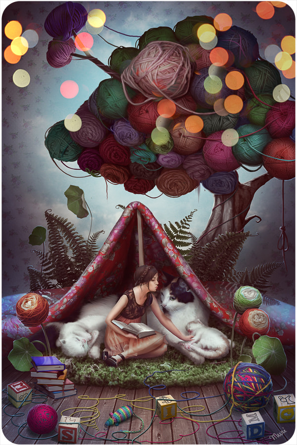Photograph Fairytale about a Yarn Tree by Katie  . on 500px