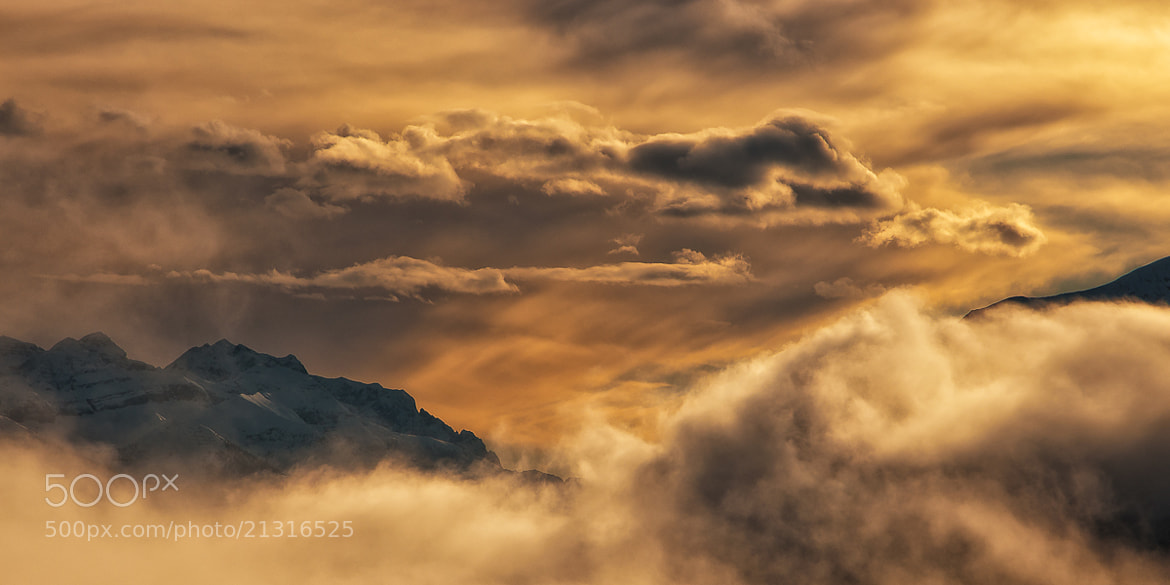 Photograph Over the clouds by Alessio Pellegrini on 500px
