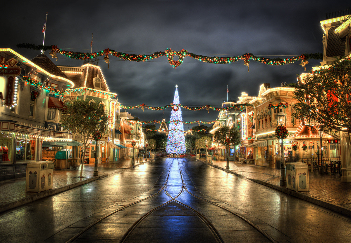 Photograph Christmas On Main Street by William McIntosh on 500px