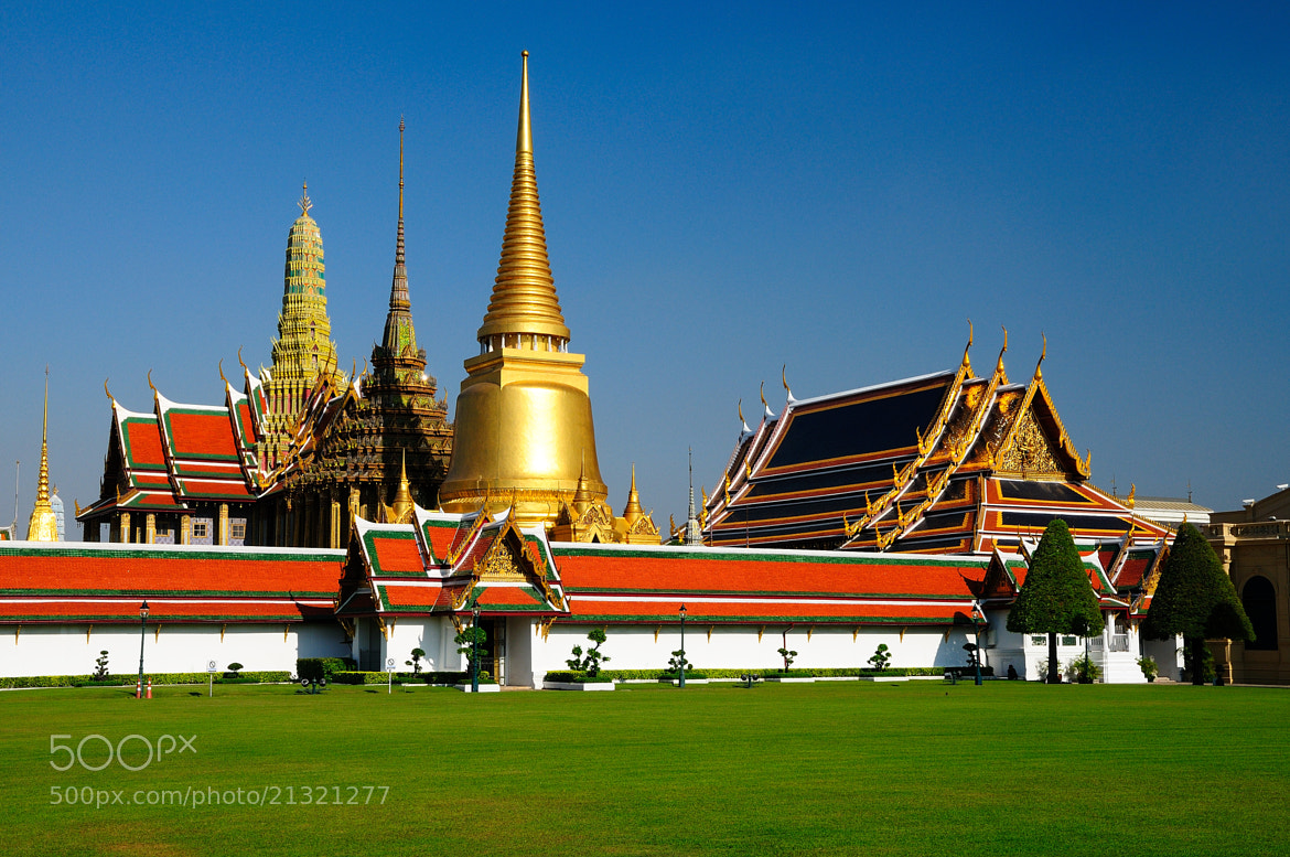 Photograph The Capital Town, Bangkok by Photos of Thailand on 500px