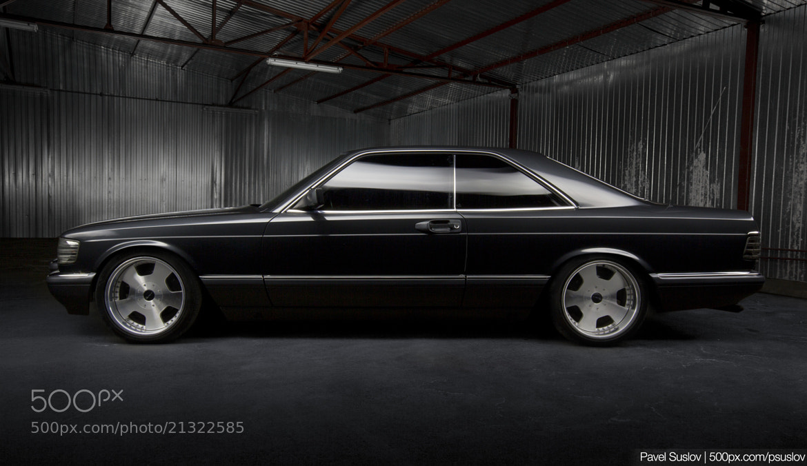Photograph Mercedes-Benz W126 by Pavel Suslov on 500px