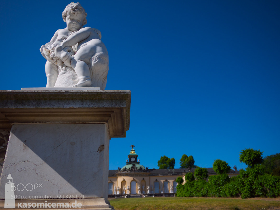 Photograph Schloss Sanssouci - Angel by Michael Schiller on 500px
