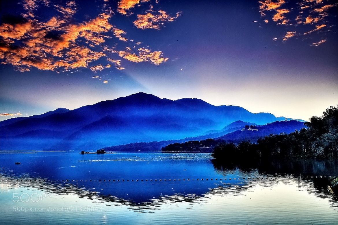 Photograph Sun Moon Lake dawn by hsinkui ho on 500px