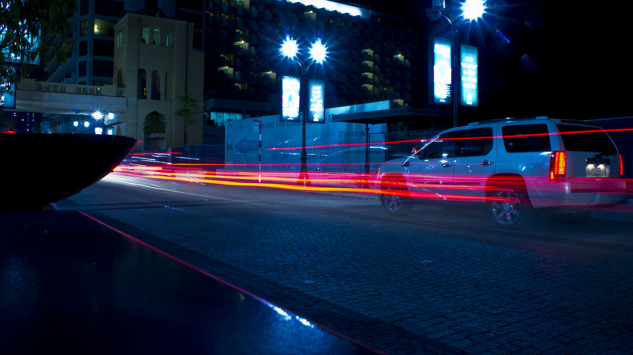 Photograph car light trails at night by Steven Ellis on 500px
