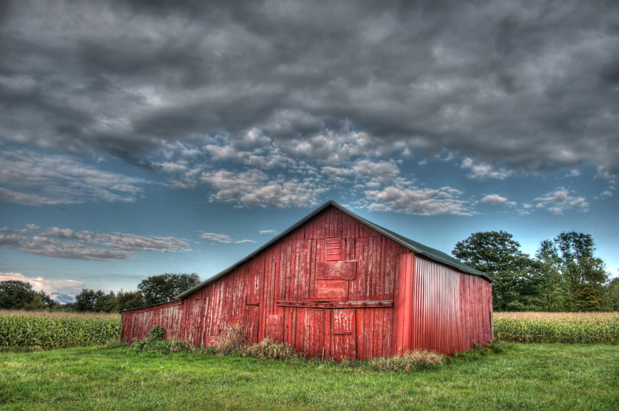Big Red - HDR