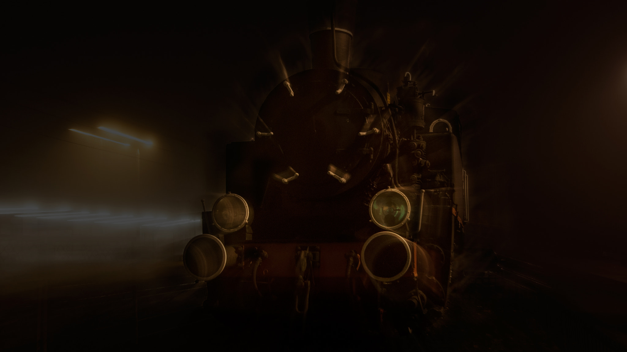 Photograph Locomotive ghost by Pawel Nalaskowski on 500px