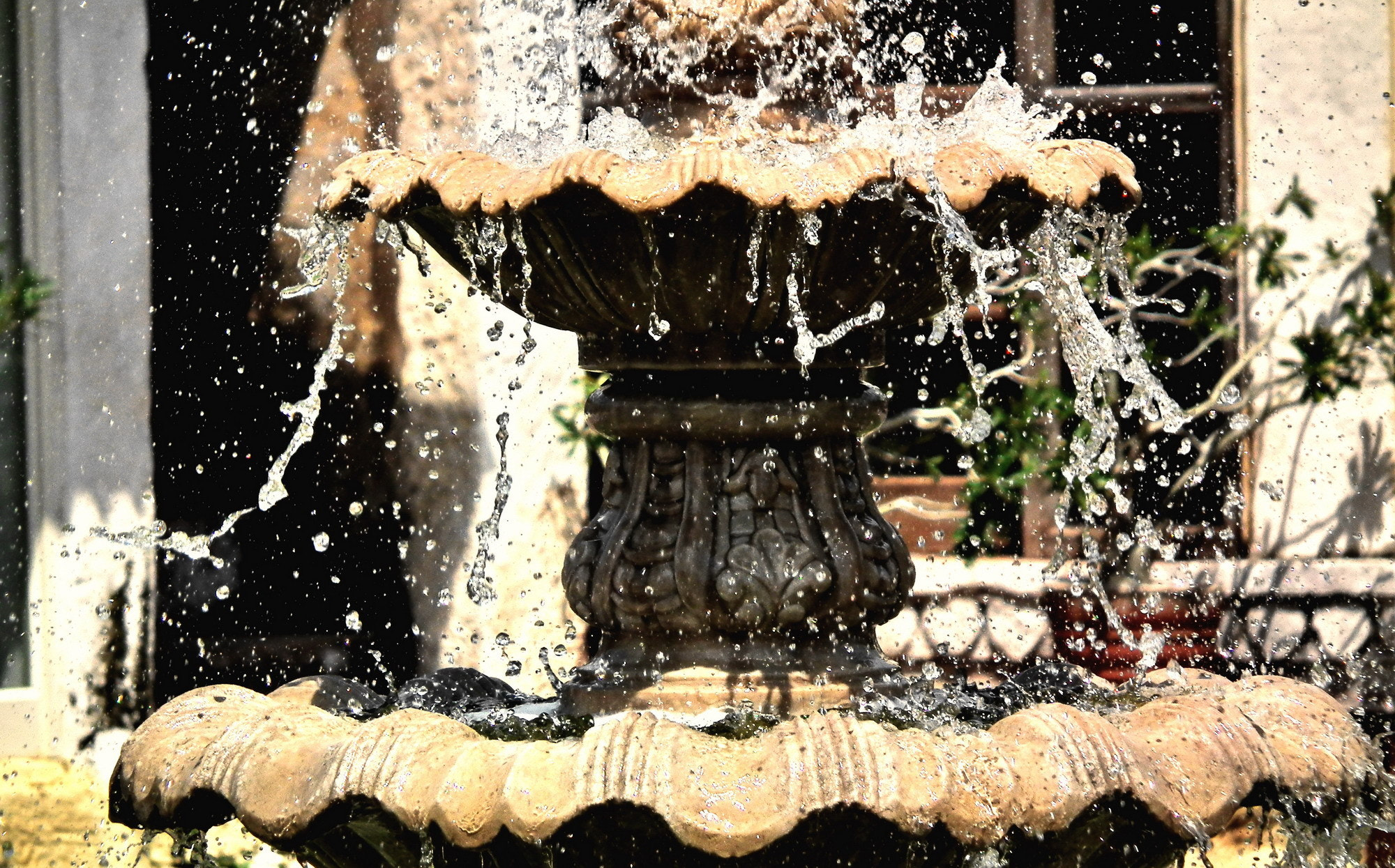 Photograph Fountain by Shishir Agrawal on 500px