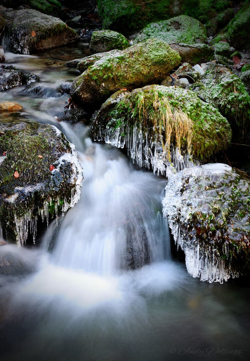 Photograph Wintery Lakeland Stream by Andy  Wellings on 500px