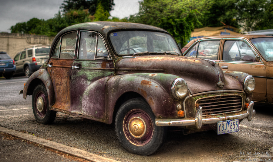 Old car, VW Beetle