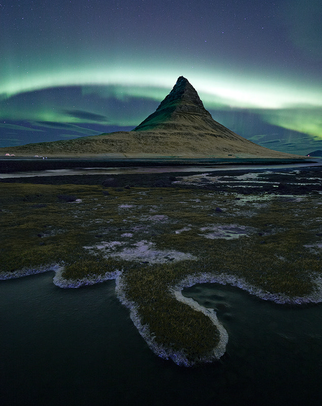 Photograph Aurora over Kirkjufell by Antony Spencer on 500px