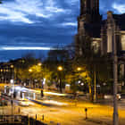Westerkerk and Tram @ Night