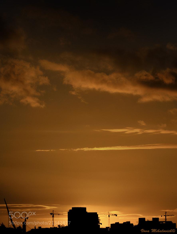 Photograph Sunset at Jerusalem by Vova Mihalovich on 500px