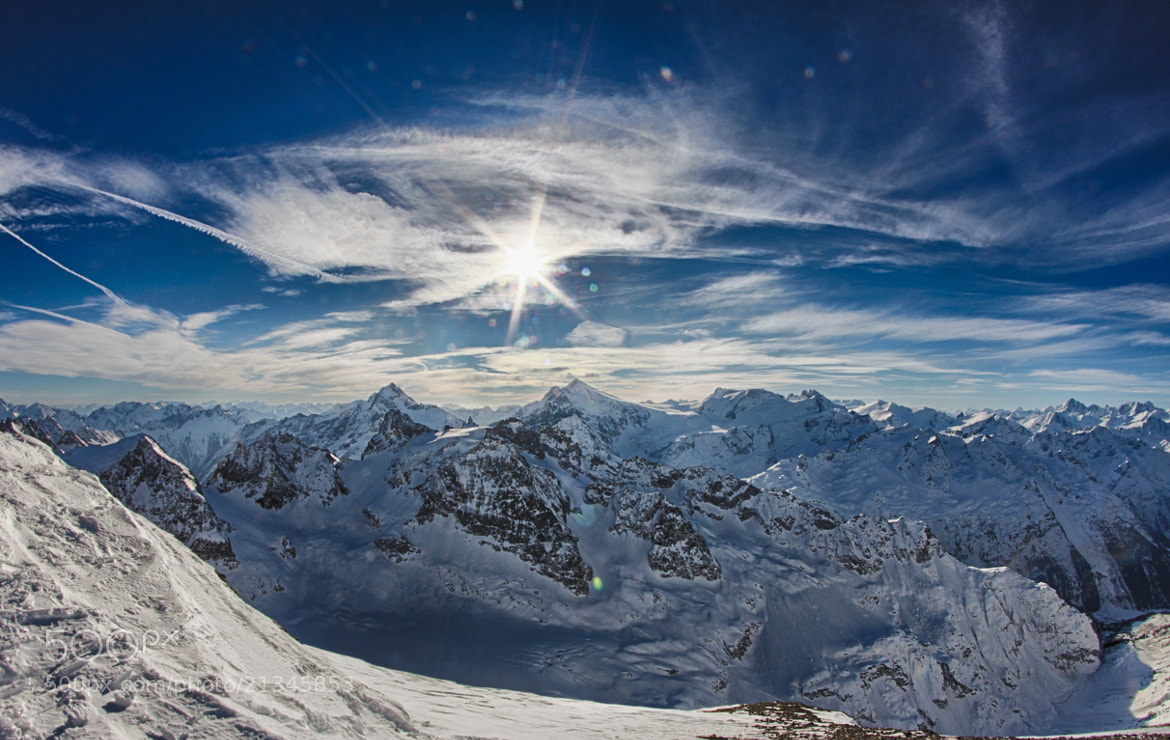 Photograph Panorama at Titlis, Switzerland by Stephan Scherz on 500px