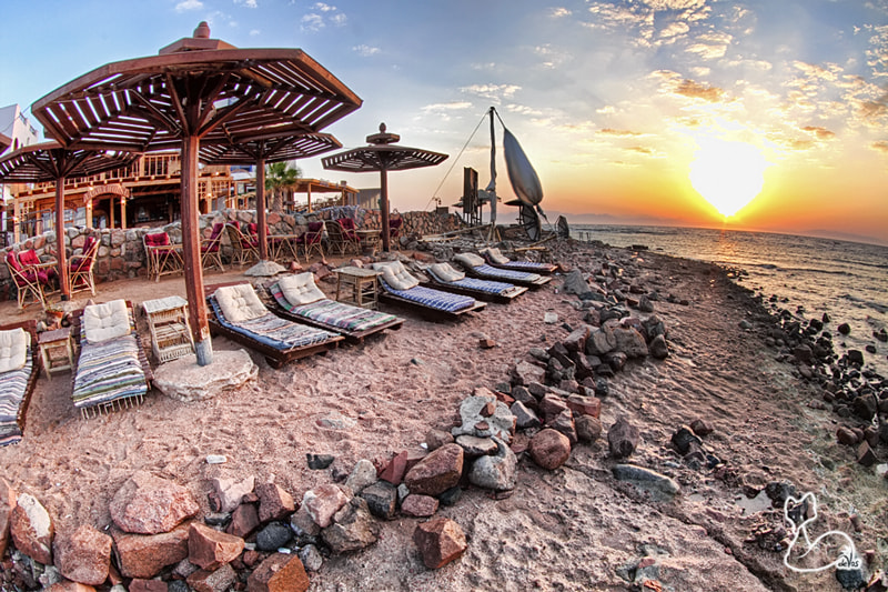 Photograph Light House Beach - Dahab, Egypt by Jacques de Vos on 500px