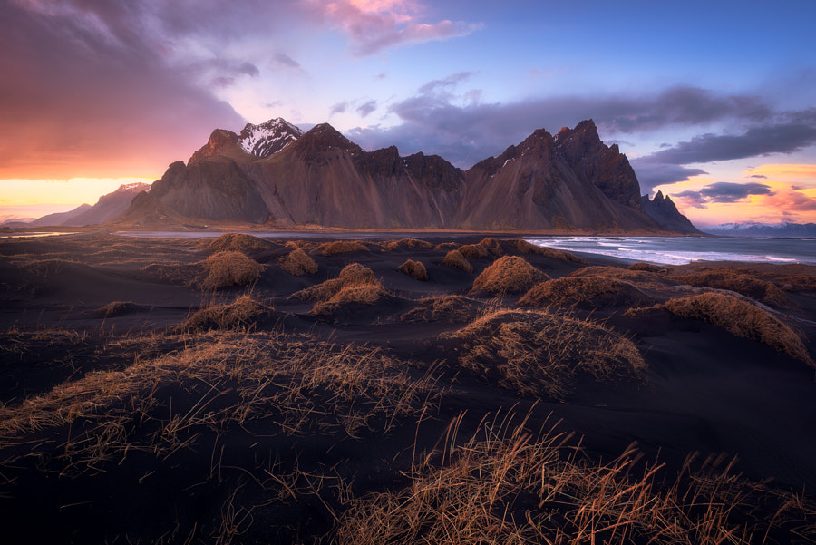 Last Light at Stokksnes by Daniel F.