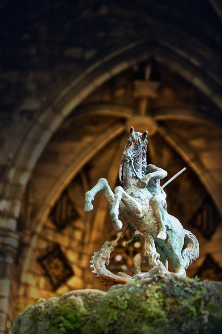 Photograph Saint George's killing the dragon by Oriol Colls on 500px
