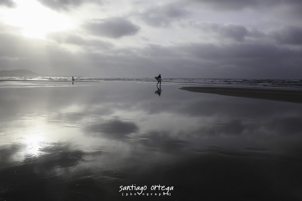 Photograph Back to the sand by Santiago Ortega on 500px
