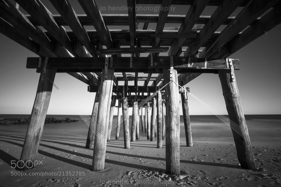 Photograph Ocean Grove Pier, After Sandy by Jo Hendley on 500px