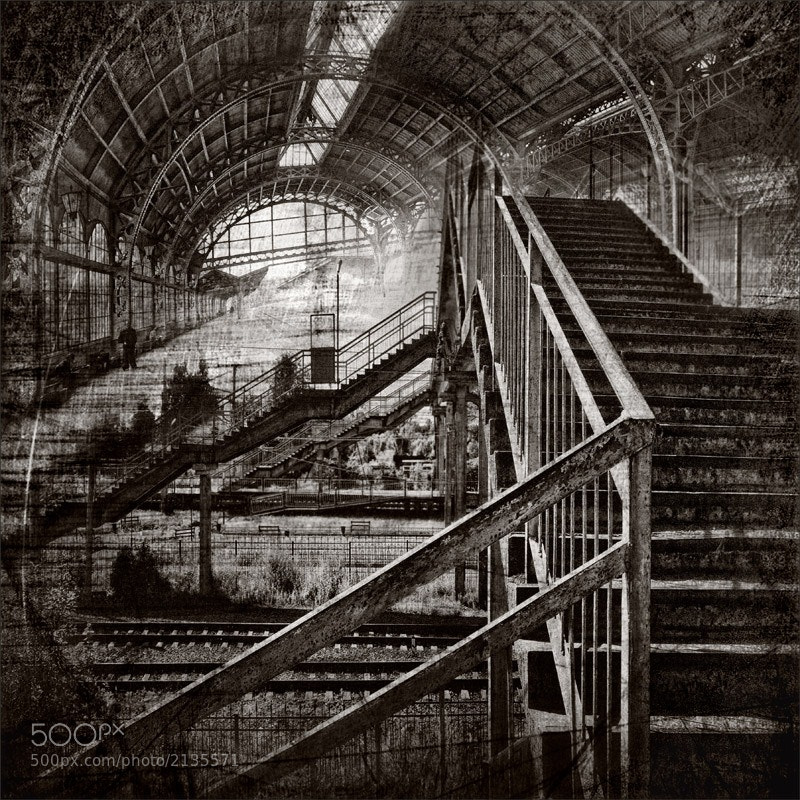 Photograph railway station by Gennadi Blohin on 500px