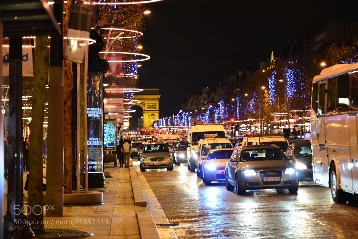 Photograph Champs Elysees by Cristian Statescu on 500px