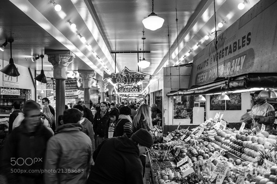 Photograph Pikes Place Market by Joe Kaden on 500px