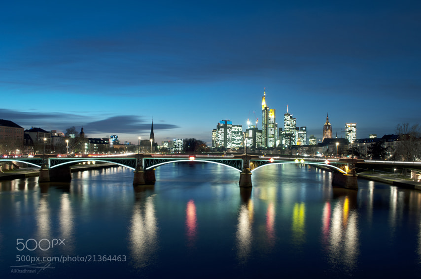 Photograph Frankfurt Skyline - II by Mohammad Ali on 500px