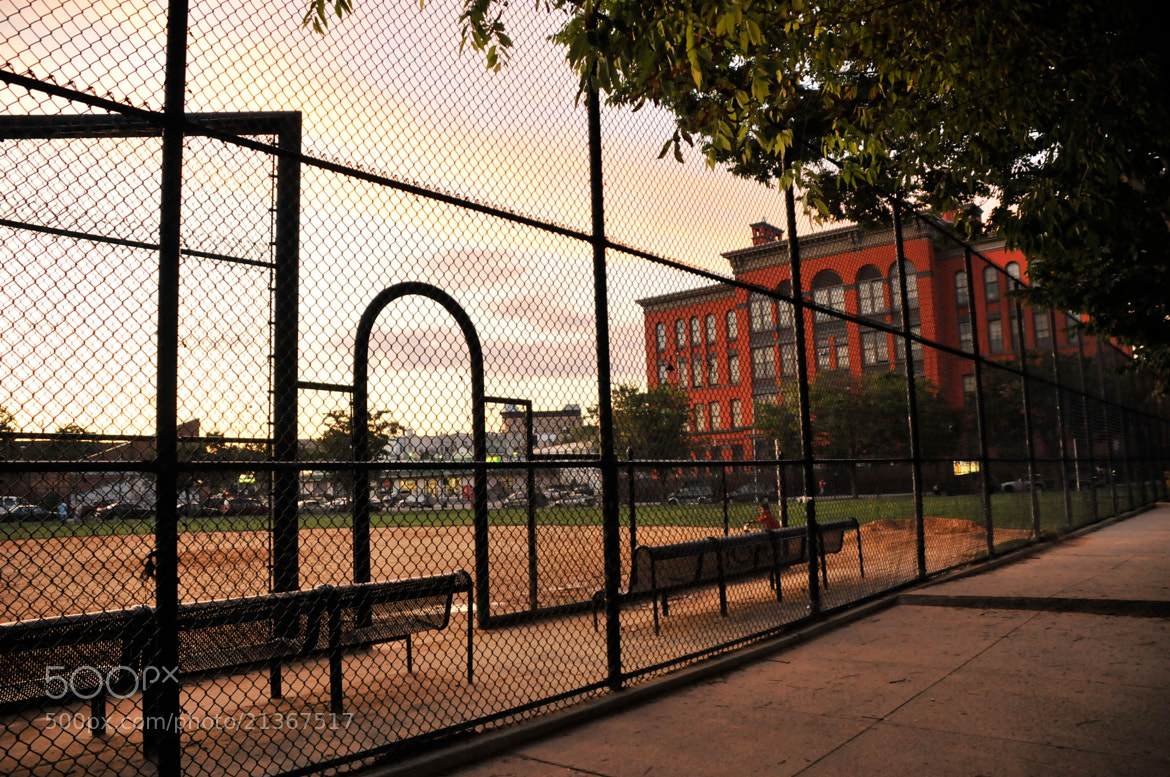 Photograph Neighborhood Baseball Park by Eric Ortiz on 500px