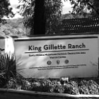 Front entrance and signage to King Gilette Ranch in Calabasas