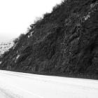 Open road on Mulholland Highway, Calabasas.