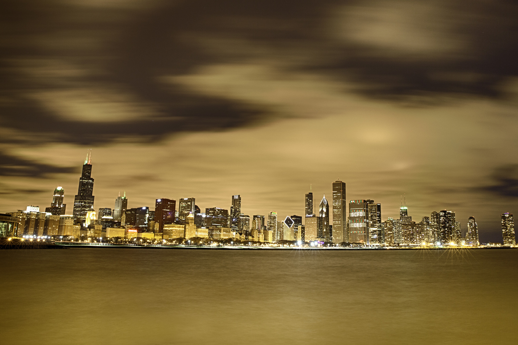 Photograph Chicago's Eve by Luke Strothman on 500px