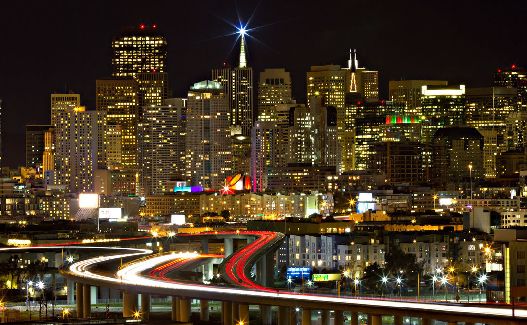 Photograph Christmas in SF by Anjum Ahuja on 500px
