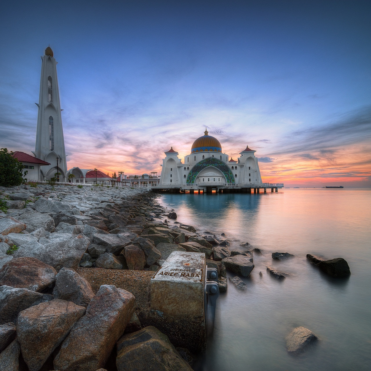 Photograph Selat Mosque In Vertorama by Kamrul Arifin on 500px