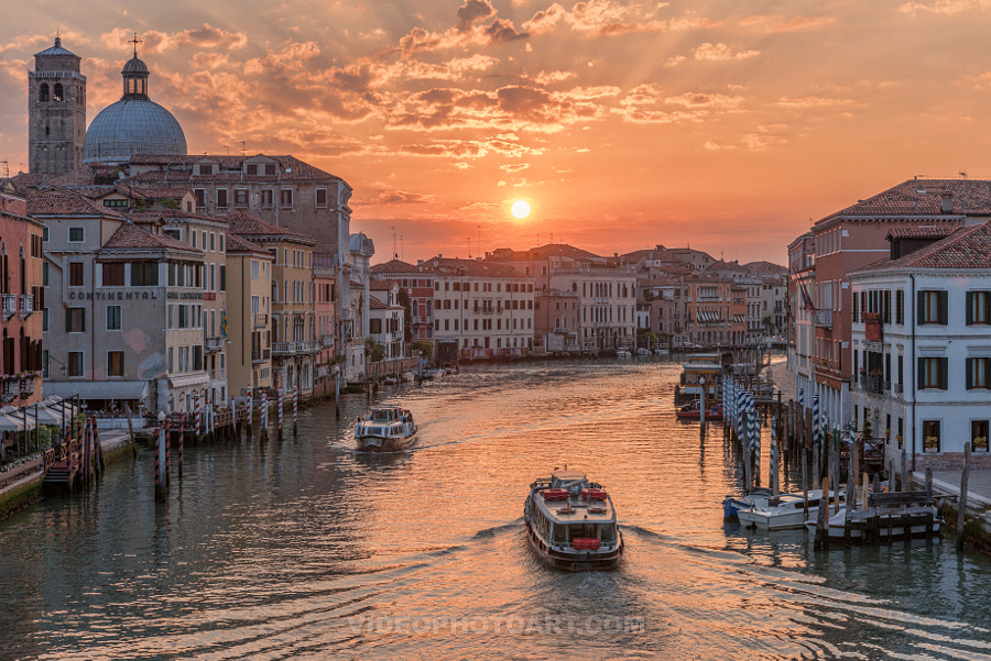 Venice At Sunrise by videophotoart com on 500px.com