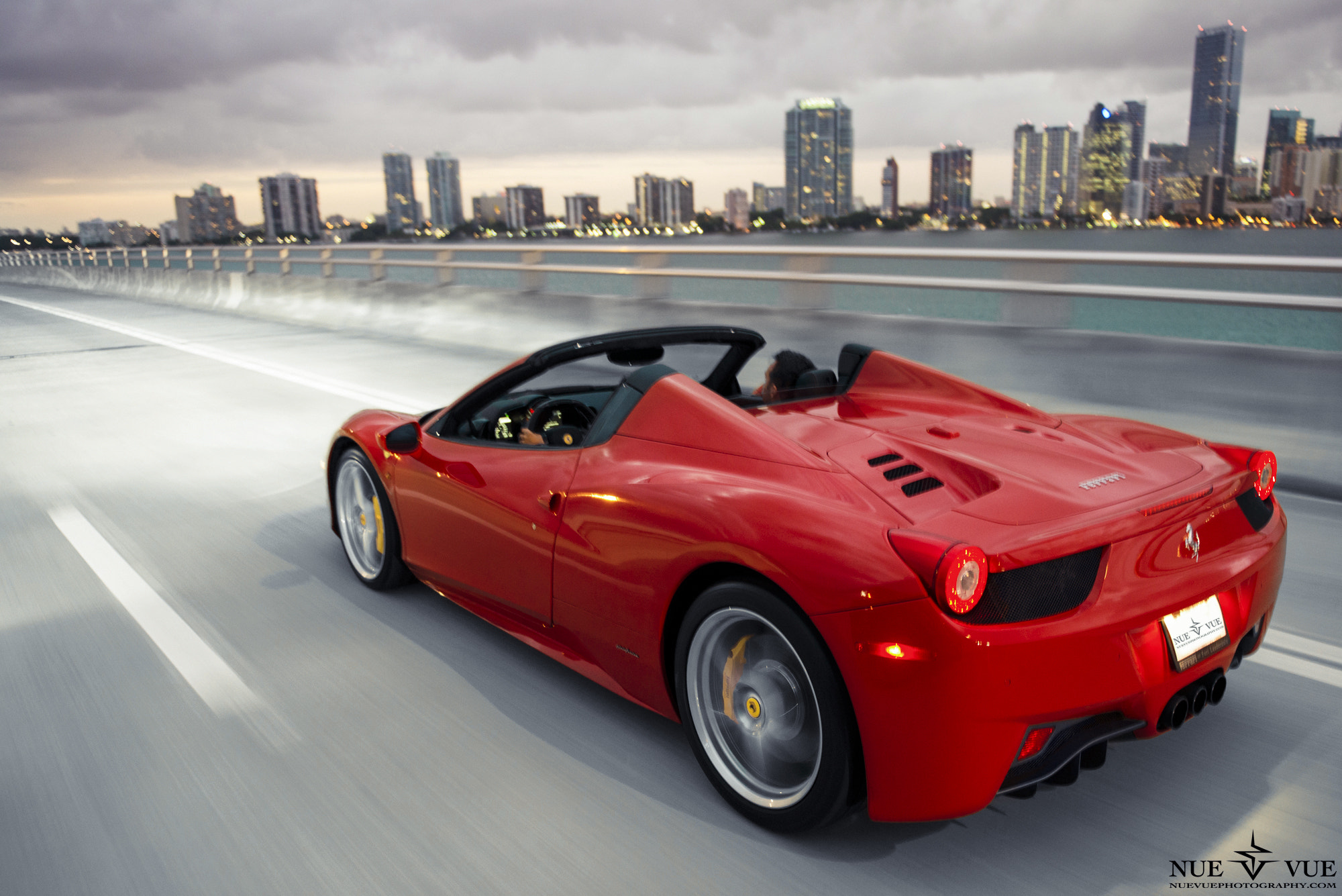 Photograph Ferrari 458 Spider by Nue Vue on 500px