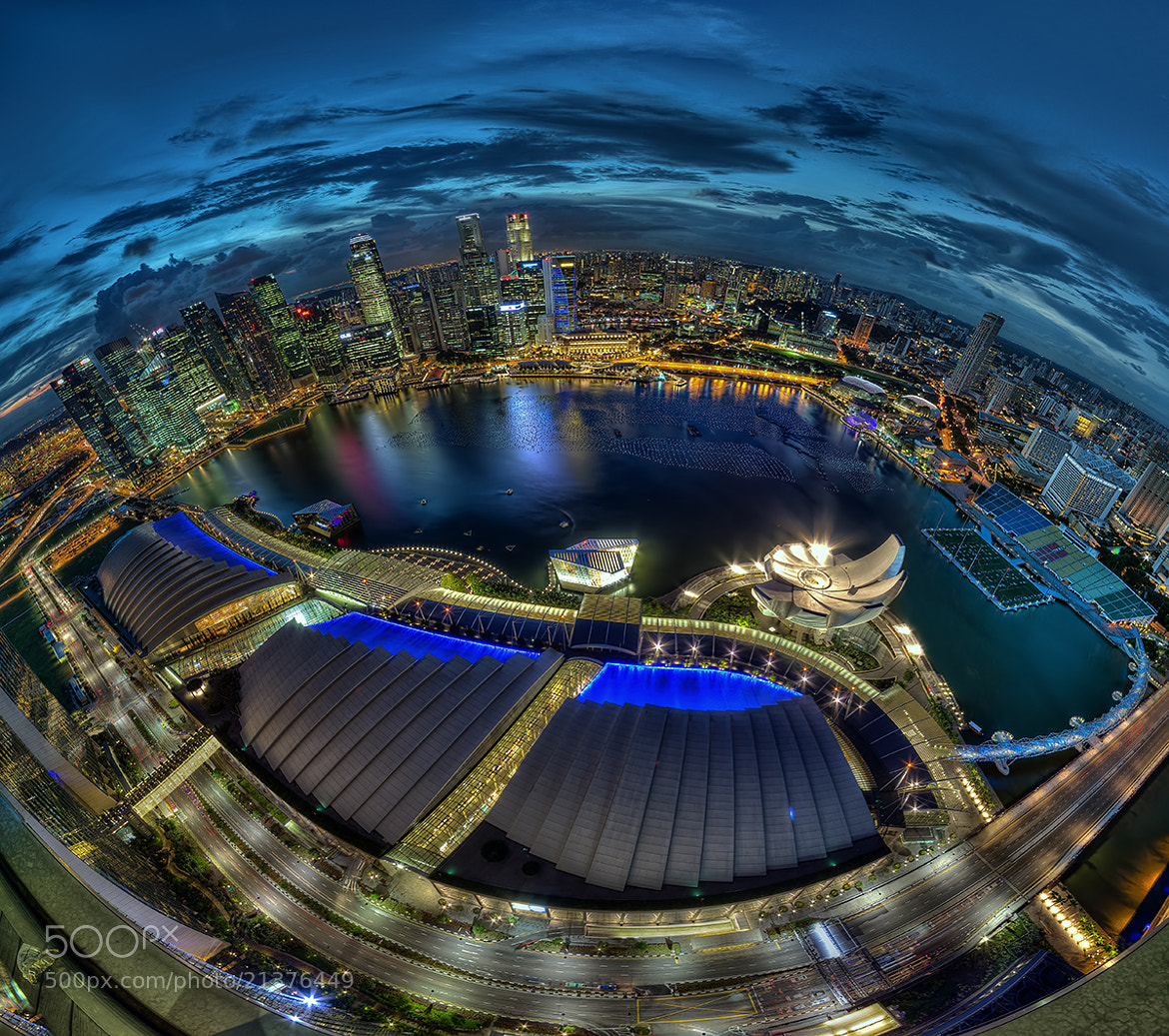 Photograph Eye Of Singapore by Partha Roy on 500px