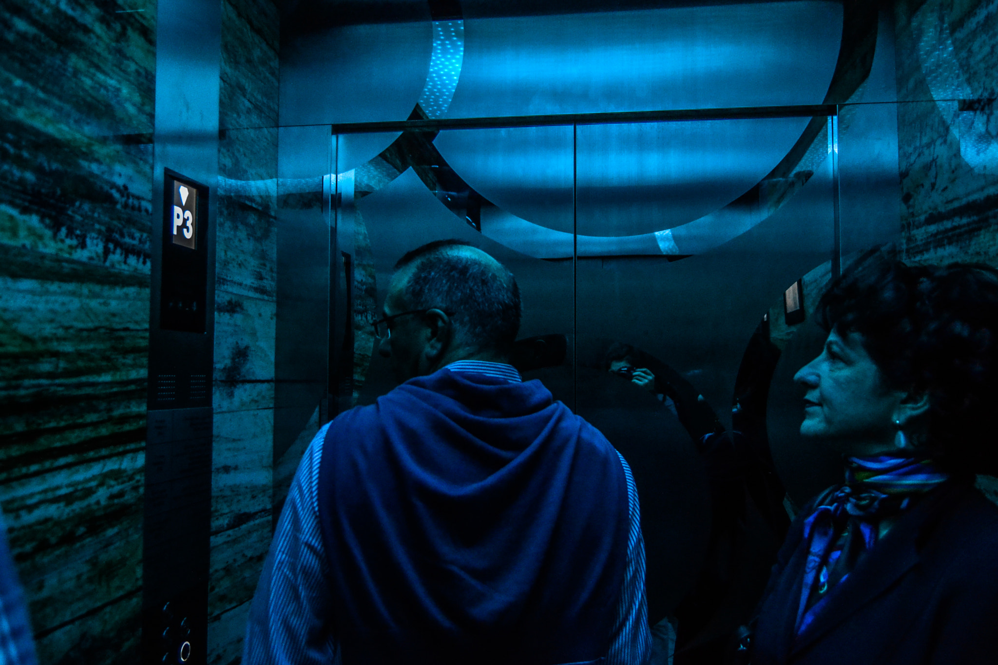 Photograph In the lift. by Ludovica Colacino on 500px