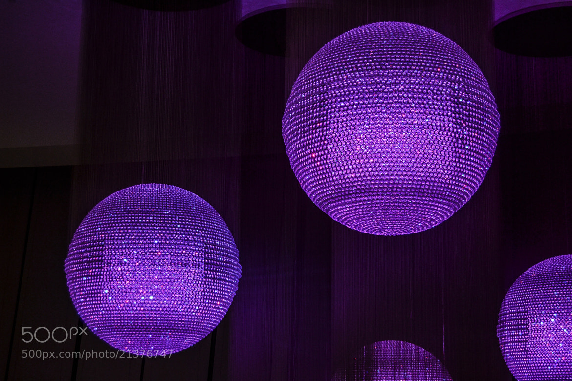 Photograph Violet lights by Ludovica Colacino on 500px