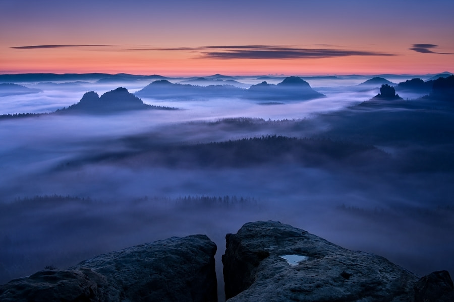 Photograph Thirty minutes before sunrise by Daniel Řeřicha on 500px